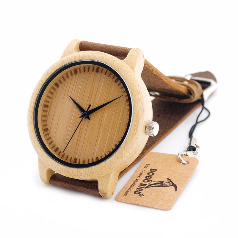 Dřevěné hodinky BOBO BIRD A10 01