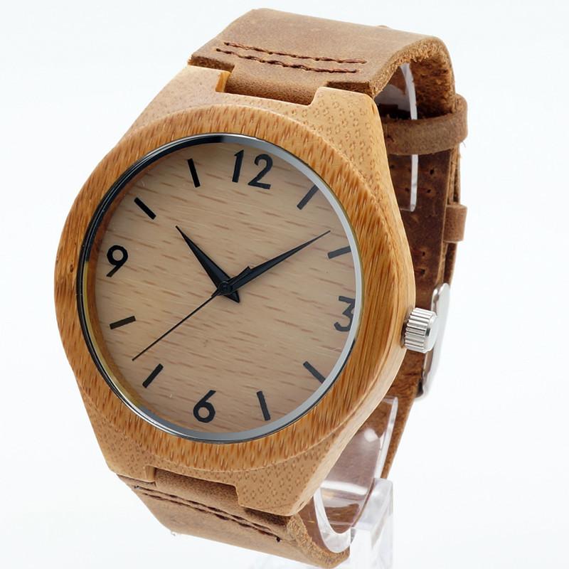 Dřevěné hodinky BOBO BIRD B1 01