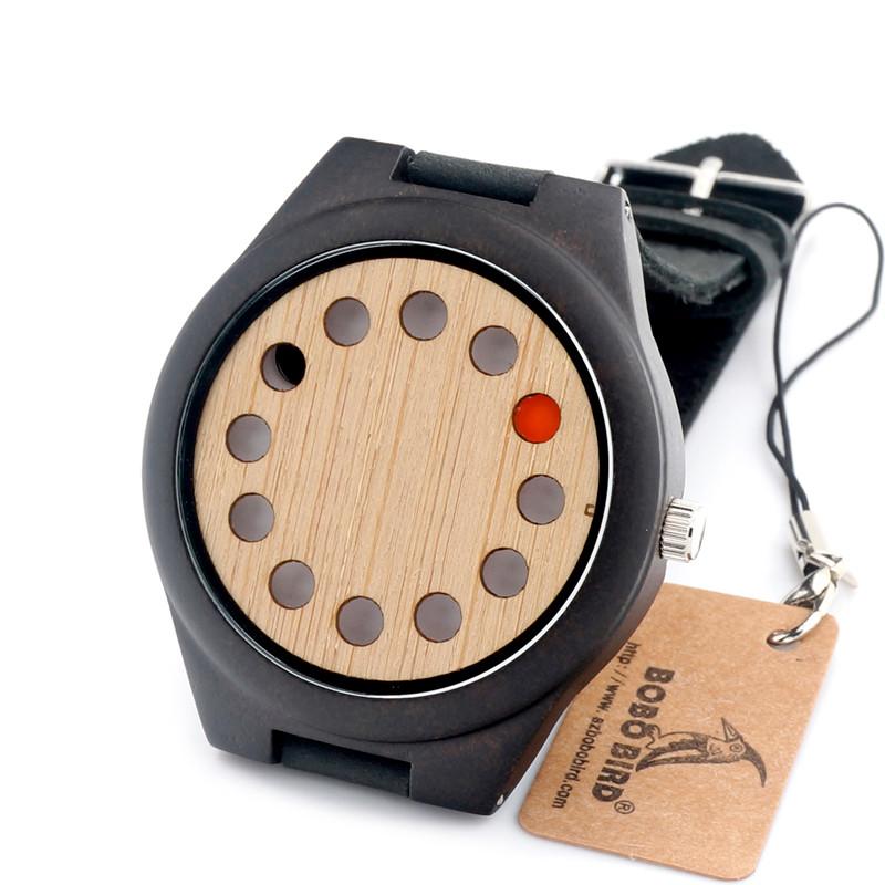 Dřevěné hodinky BOBO BIRD F06 12 01