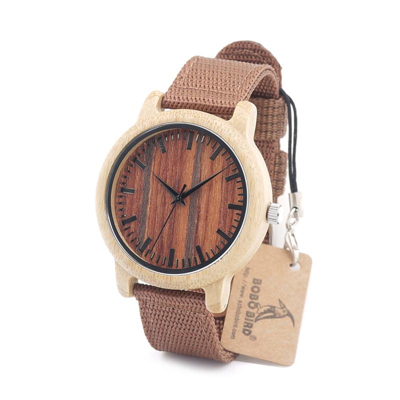 Drevene hodinky BOBO BIRD D10 04