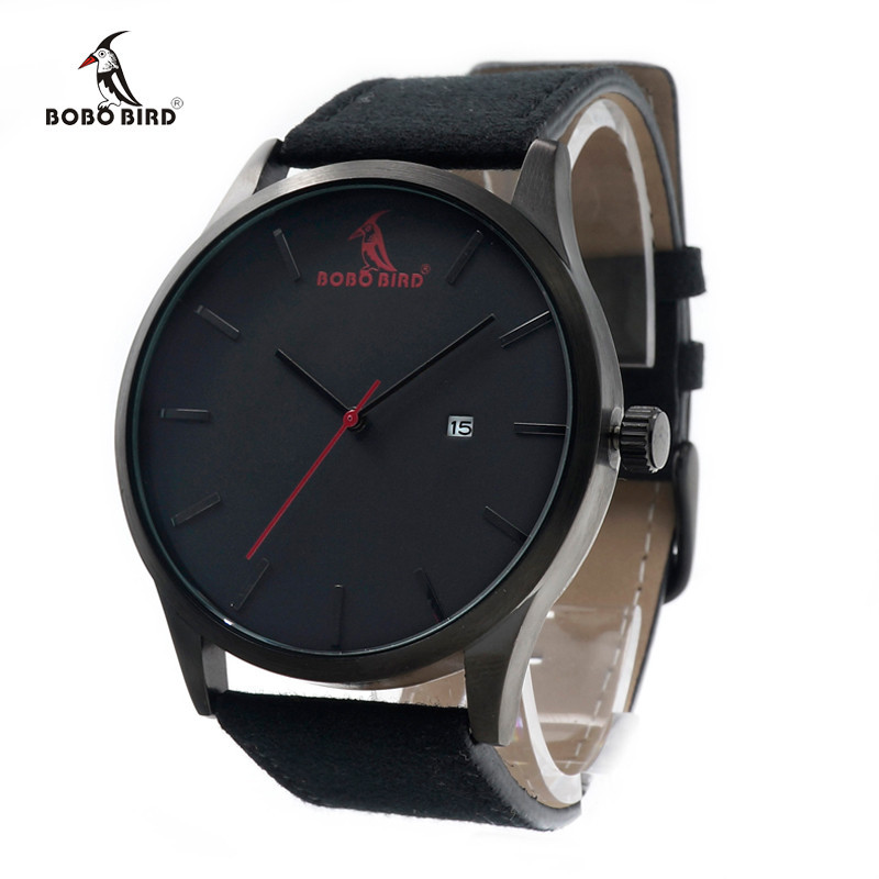 Drevene hodinky znacky BOBO BIRD G15 01