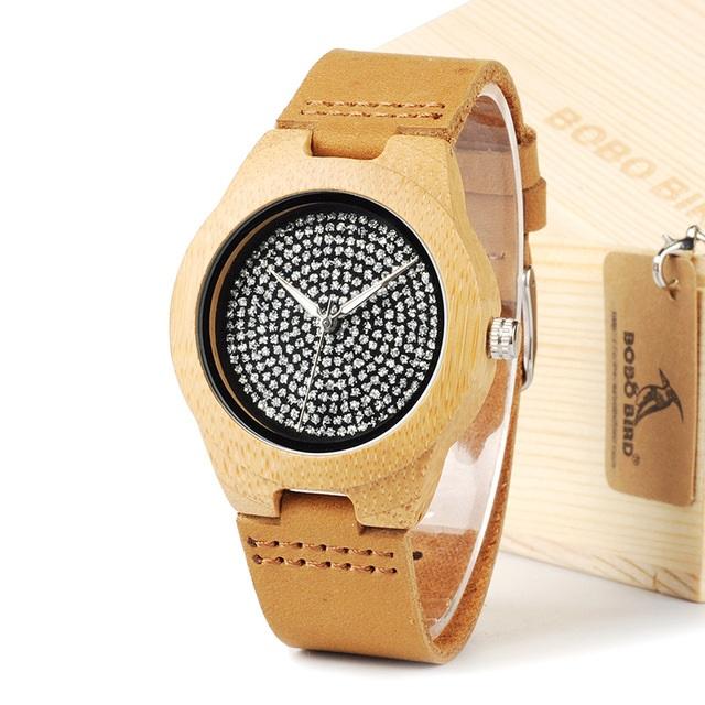 Drevene hodinky BOBO BIRD A11 01