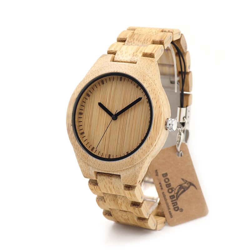 Drevene hodinky BOBO BIRD G27 01