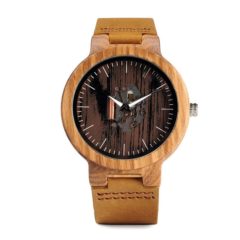 Drevene hodinky BOBO BIRD H29 01
