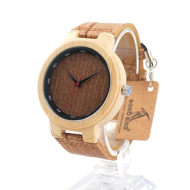 Drevene hodinky BOBO BIRD D16 01