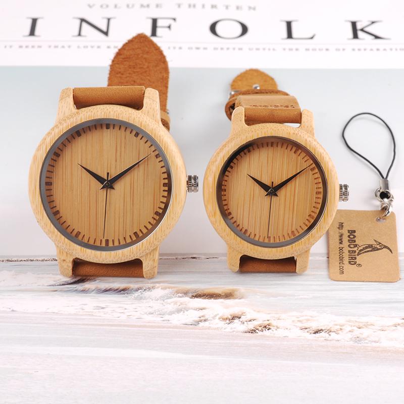 Drevene hodinky BOBO BIRD A09+A10 01