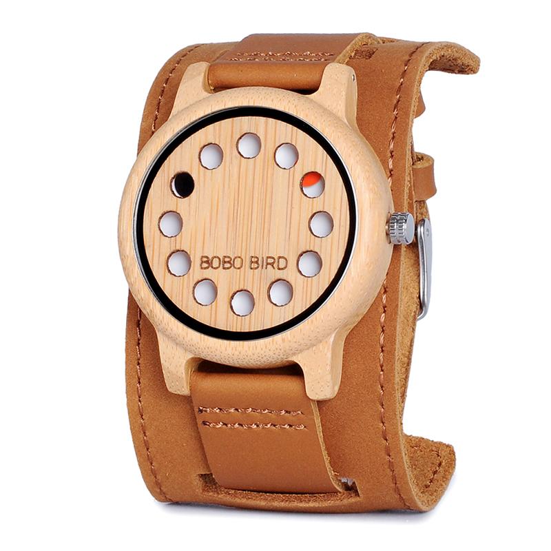 Drevene hodinky znacky BOBO BIRD A26 01