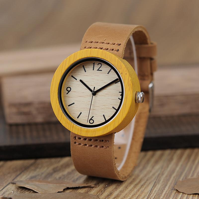 Drevene hodinky BOBO BIRD D18 01