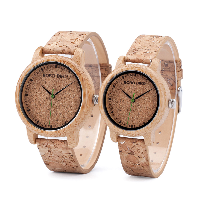 Drevene hodinky znacky BOBO BIRD M11+M12 01