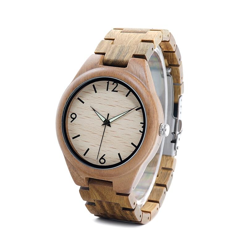 Drevene hodinky BOBO BIRD I18 01