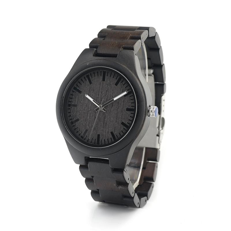 Drevene hodinky BOBO BIRD I22 01