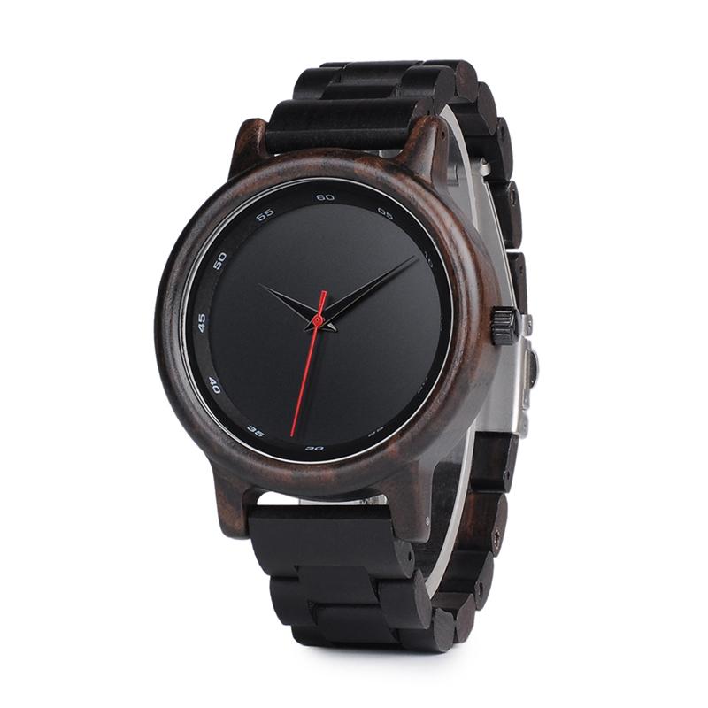 Drevene hodinky BOBO BIRD P10 01