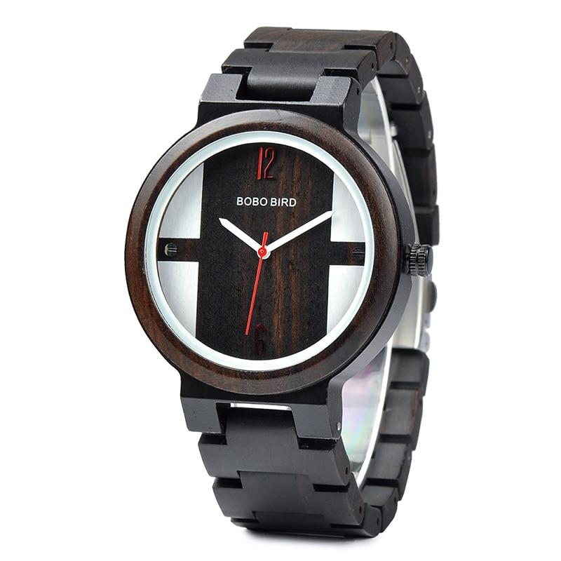Drevene hodinky BOBO BIRD Q19-A 01