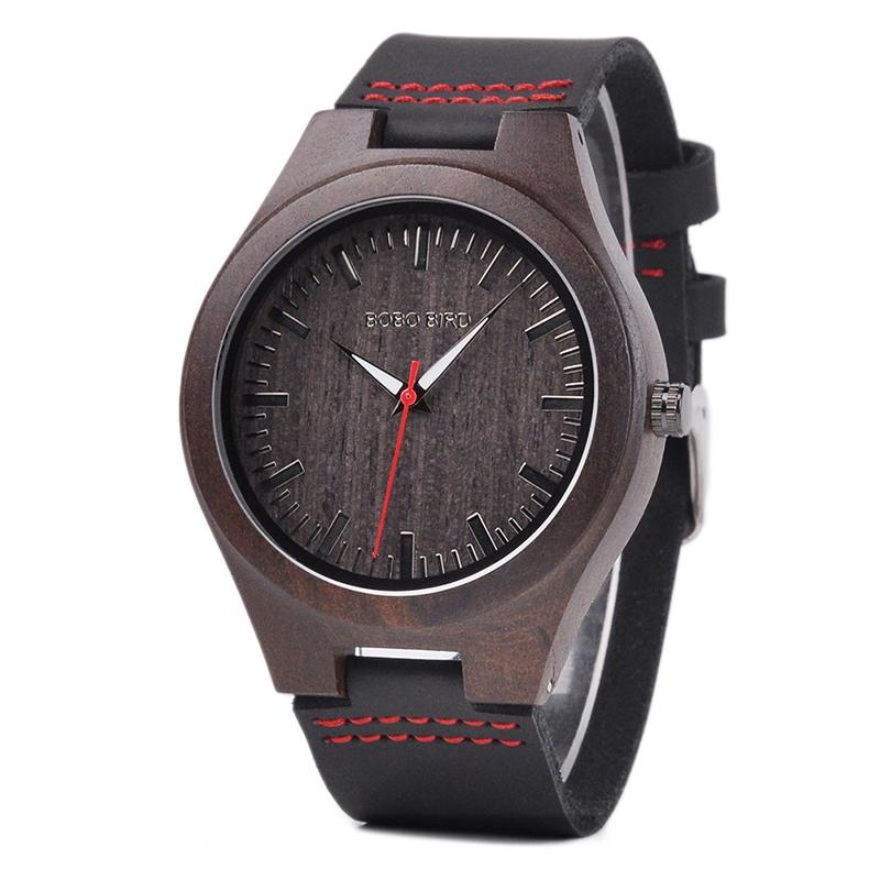 Drevene hodinky BOBO BIRD S10 01