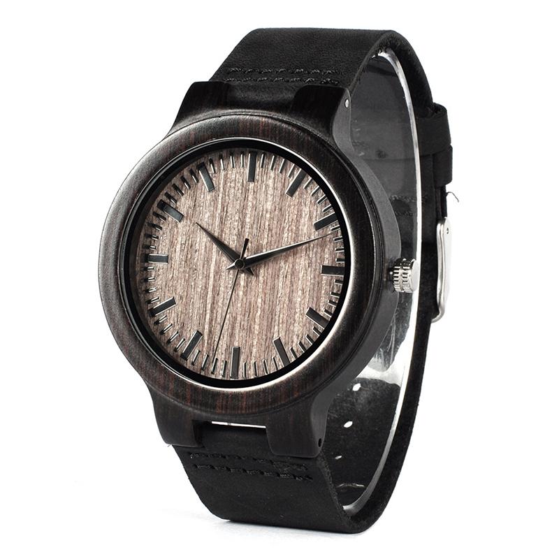 Drevene hodinky BOBO BIRD C26 01