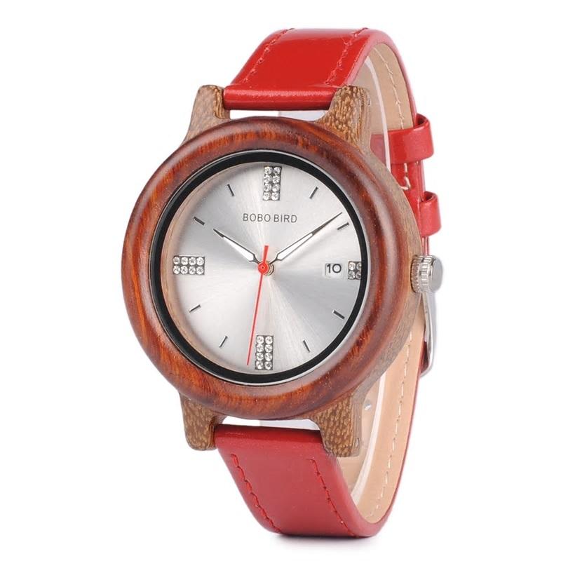 Drevene hodinky znacky BOBO BIRD P29 01