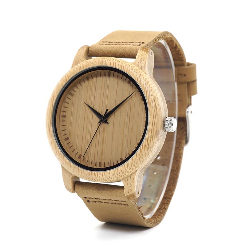 Drevene hodinky BOBO BIRD A09 01